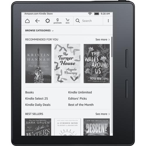 """Kindle Oasis 6"""" eReader (Black, Wi-Fi+3G)"""