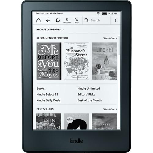 "Kindle 6"" eReader (Special Offers & Advertisements, Black, 2016 Version)"
