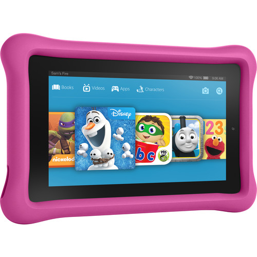 "Kindle 7"" Fire Kids Edition Tablet (Pink)"