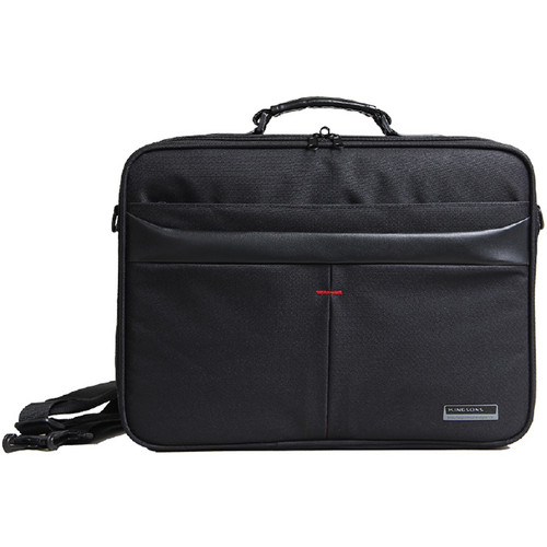 "Kingsons 15.6"" Corporate Laptop Shoulder Bag (Black)"