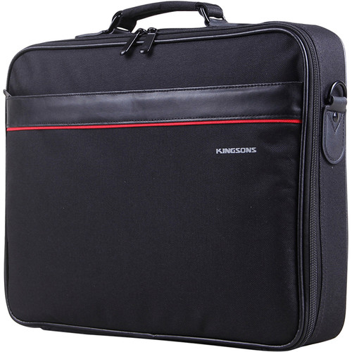 "Kingsons 15.4"" Offices Laptop Shoulder Bag (Black)"
