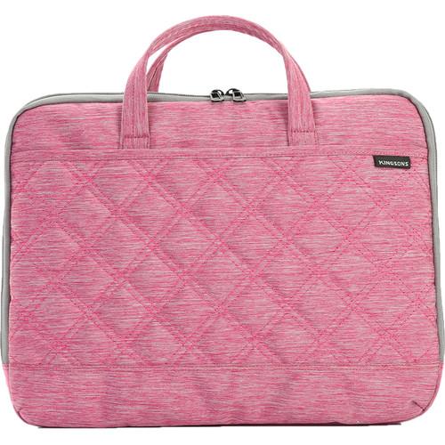 Kingsons Trace Series Ladies' Shoulder Bag (Pink)