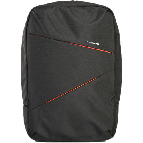 "Kingsons 15.6"" Arrow Laptop Backpack (Black)"