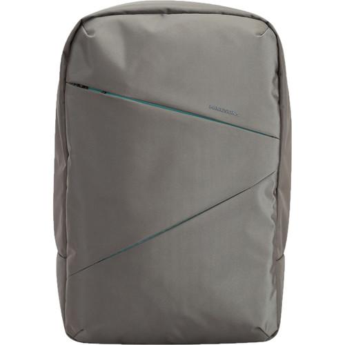 "Kingsons 15.6"" Arrow Laptop Backpack (Gray)"