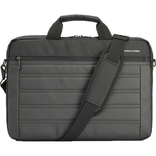 """Kingsons 15.6"""" Legacy Laptop Shoulder Bag (Black)"""