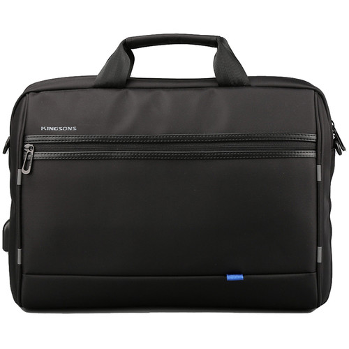 "Kingsons 15.6"" Global Smart Shoulder Bag (Black)"