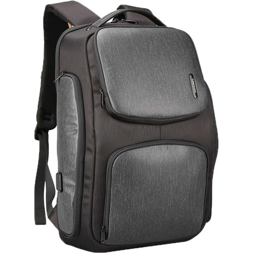 """Kingsons 15.6"""" Smart Backpack (Black)"""