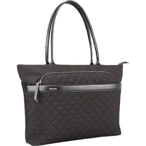 """Kingsons 15.6"""" Laptop Shoulder Bag (Black)"""