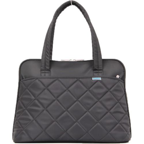 """Kingsons 15.4"""" Ladies in Fashion Shoulder Bag (Black)"""