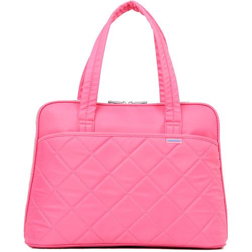 """Kingsons 15.4"""" Ladies in Fashion Shoulder Bag (Pink)"""