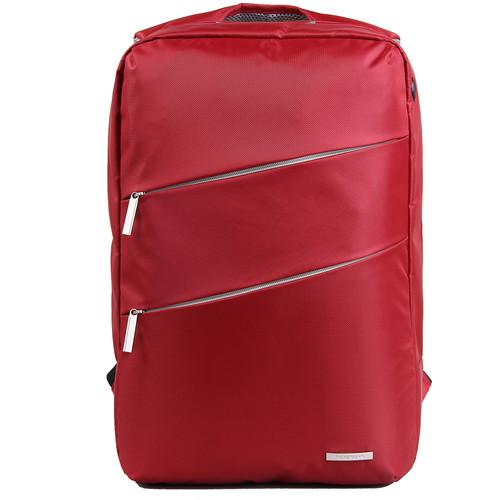 "Kingsons 15.6""Laptop Backpack - (Red)"