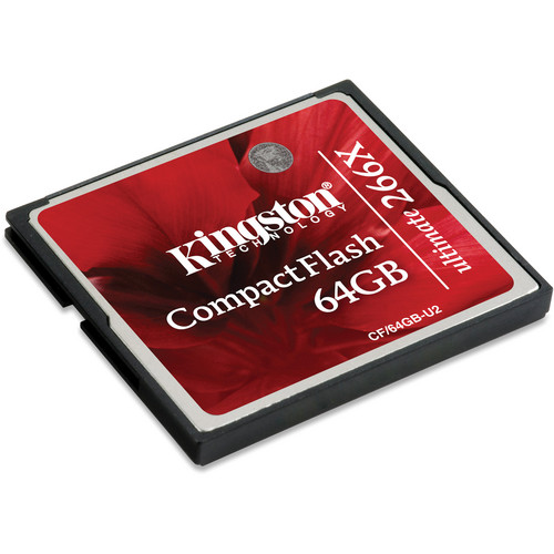 Kingston 64GB CompactFlash Ultimate 266x Memory Card