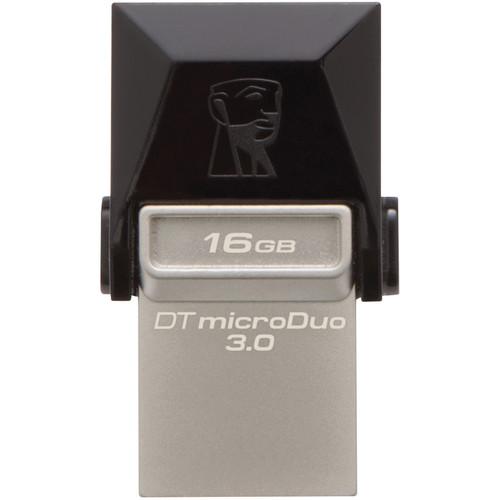 Kingston 16 DataTraveler microDuo USB 3.1 Gen 1 Flash Drive