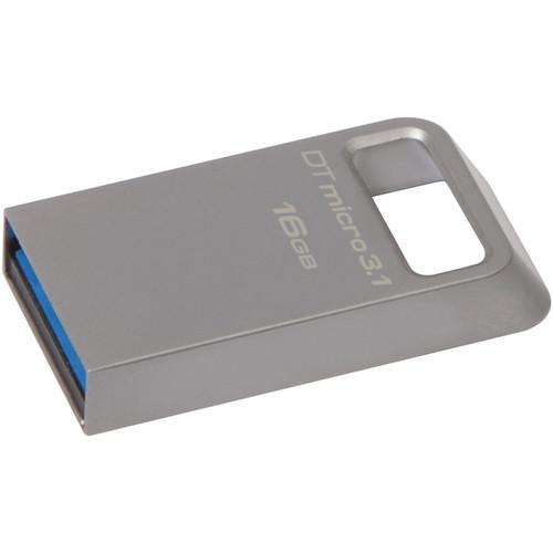 Kingston 16GB DataTraveler Micro 3.1 USB Flash Drive