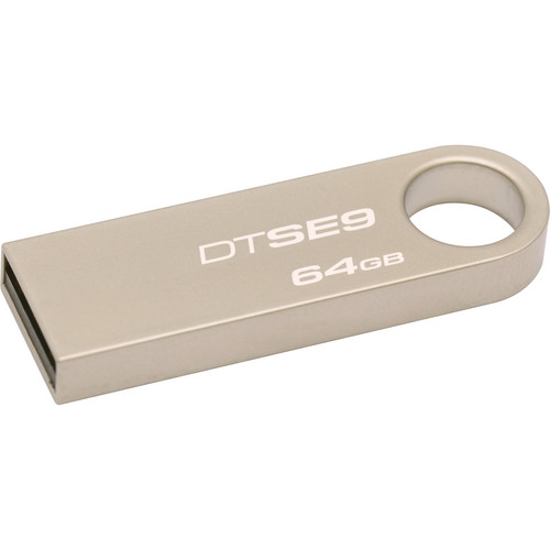 Kingston 64GB DataTraveler SE9 USB Flash Drive