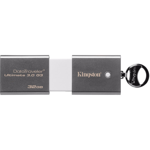 Kingston 32GB DataTraveler Ultimate 3.0 Generation 3 USB Flash Drive