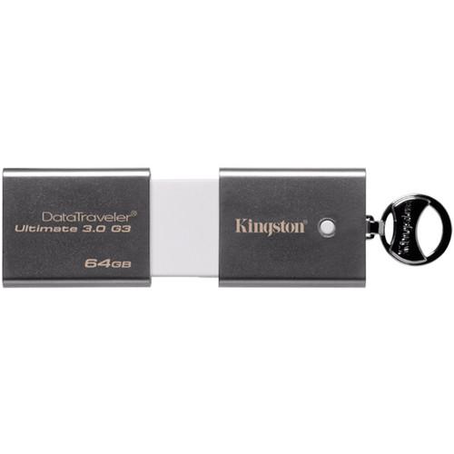 Kingston 64GB DataTraveler Ultimate 3.0 Generation 3 USB Flash Drive