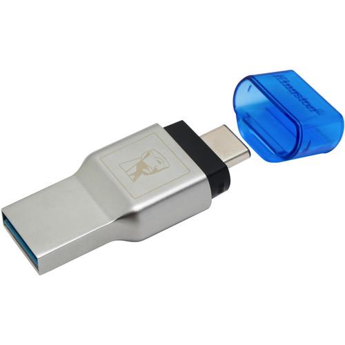 Kingston MobileLite Duo 3C microSD Memory Card Reader