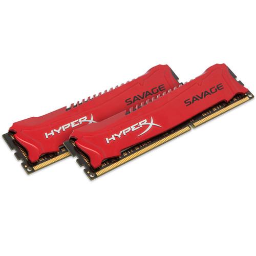 Kingston 16GB HyperX Savage DDR3 1600 MHz DIMM Memory Kit (2 x 8GB)