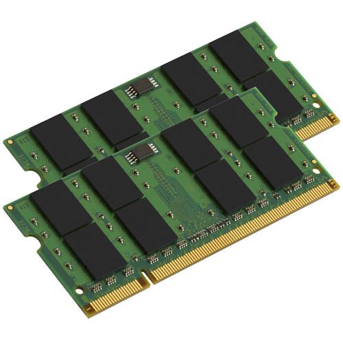 Kingston 2GB DDR2 667 MHz SO-DIMM Memory Kit (2 x 1GB, Mac)