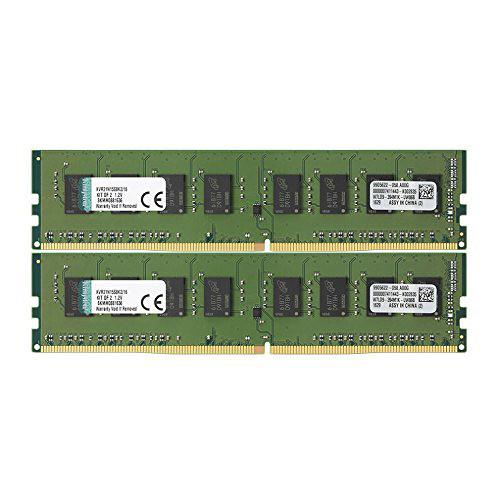 Kingston 16GB ValueRAM DDR4 2133 MHz DIMM Memory Kit (2 x 8GB)