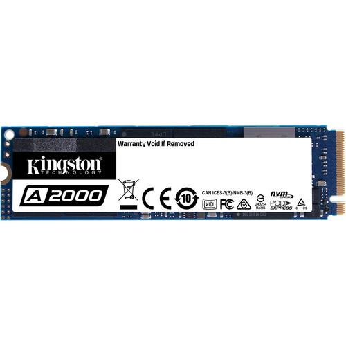Kingston 250GB A2000 NVMe PCIe M.2 Internal SSD