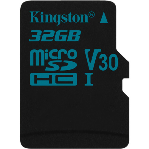 Kingston 32GB Canvas Go! UHS-I microSDHC Memory Card