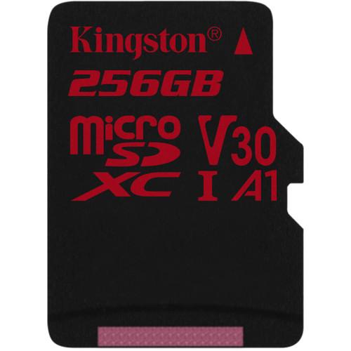 Kingston 256GB Canvas React UHS-I microSDXC Memory Card