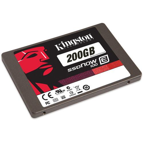 Kingston 200 SSDNow E100 Enterprise Solid State Drive