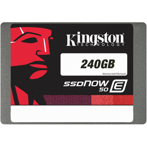 Kingston 240GB SSDNow E50 Enterprise Solid State Drive