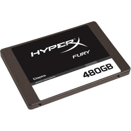"Kingston 480GB HyperX FURY SATA III 2.5"" Internal SSD"
