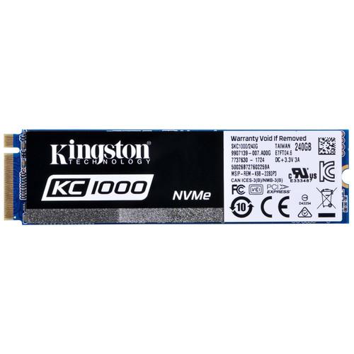 Kingston 240GB KC1000 NVMe PCIe M.2 SSD