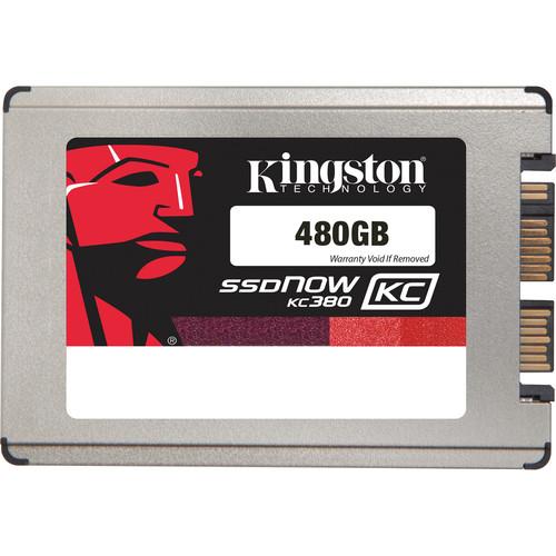 """Kingston 480GB KC380 SSDNow SATA III 1.8"""" Internal SSD"""