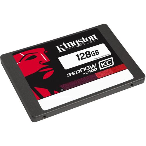 """Kingston 128GB KC400 SATA III 2.5"""" Internal SSD"""