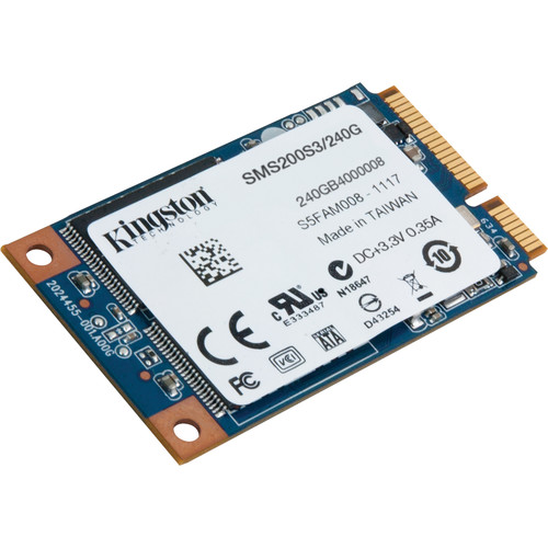 Kingston 240GB mS200 SSDNow mSATA Internal SSD