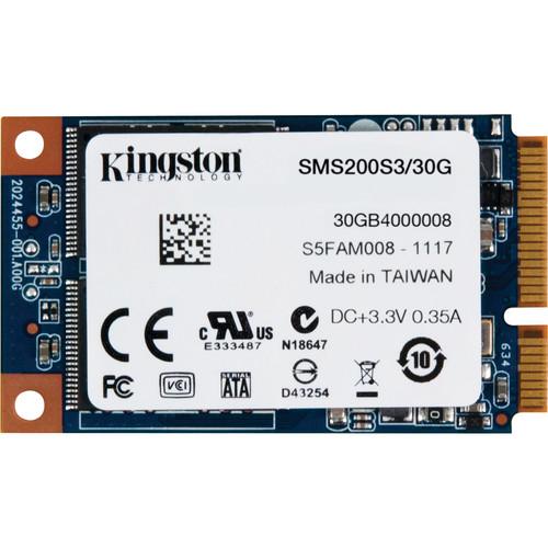 Kingston 30GB mS200 SSDNow mSATA Internal SSD