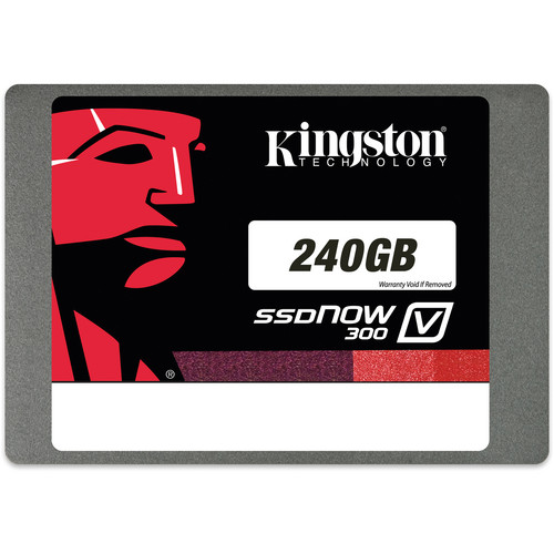 "Kingston 240GB 2.5"" SSDNow V300 7mm Internal Solid State Drive"