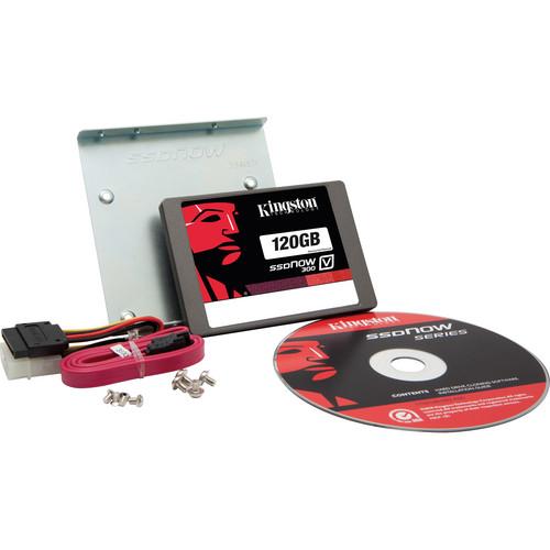 "Kingston 120GB 2.5"" SSDNow V300 Solid State Drive Desktop Upgrade Kit"