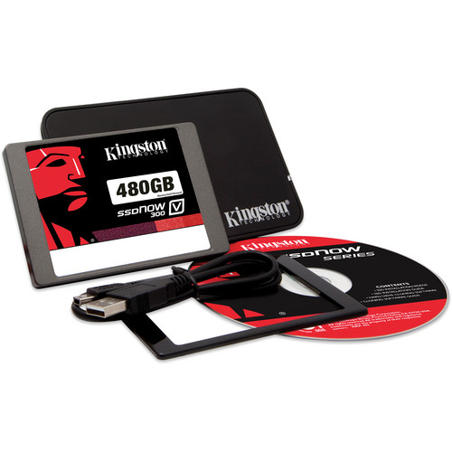 "Kingston 480GB 2.5"" SSDNow V300 Notebook Upgrade Kit"
