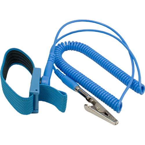 Kingwin Anti-Static Wrist Strap with Grounding Wire (5-Pack, Blue)