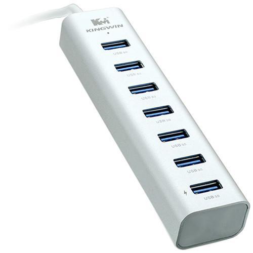 Kingwin 7-Port SuperSpeed USB 3.0 Hub