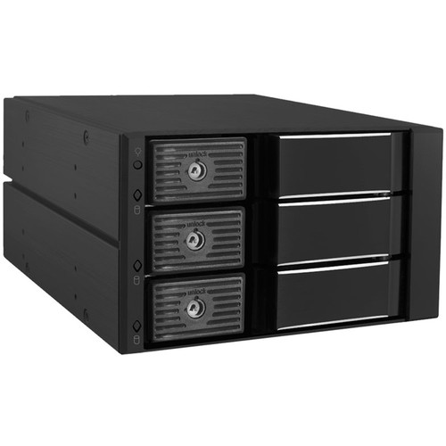 "Kingwin Internal Tray-Less Hot-Swap Mobile Rack for 3x 3.5"" HDDs"
