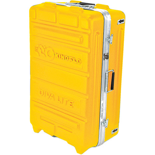 Kino Flo Flight Case for Two Diva 20 Fixtures and Accessories (Yellow)