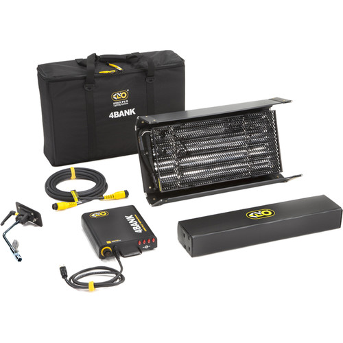 Kino Flo 2' 4Bank Fixture Kit with Soft Case