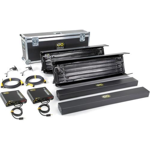 Kino Flo Gaffer DMX 4' 4Bank Two Light Kit (North American Plug)