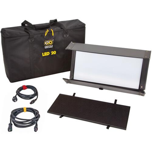 Kino Flo Diva-Lite 20 LED DMX Kit with Soft Case