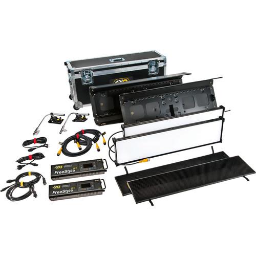 Kino Flo FreeStyle 31 LED DMX Gaffer 2-Light Kit with Shipping Case