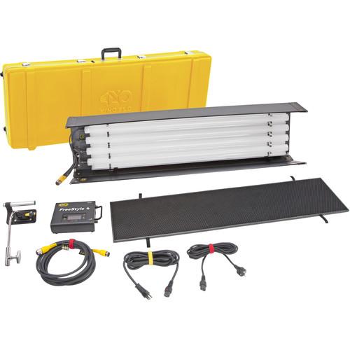 Kino Flo FreeStyle T44 LED DMX 1-Light Kit with Shipping Case