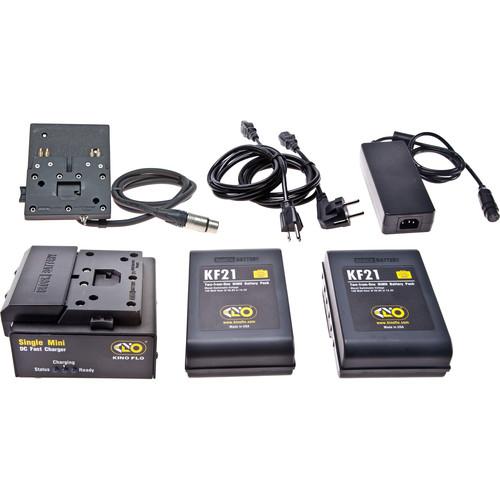 Kino Flo Block/KF21 Single Battery System with 2 NiMH Batteries