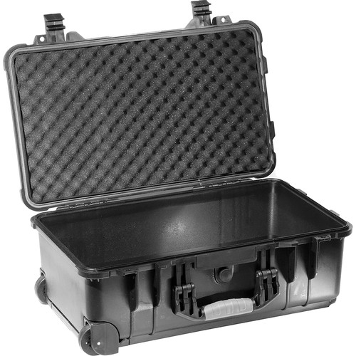 Kinotehnik 1510 Injection-Molded Waterproof Wheeled Case for 2-3 Light Kit without Stands